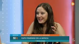 Entrevista completa Cupo Femenino en la Música (noticiero 27/12/2018)