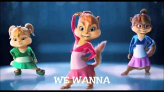 CHIPETTES AND CHIPMUNKS - WE WANNA (Alexandra Stan &amp Inna)