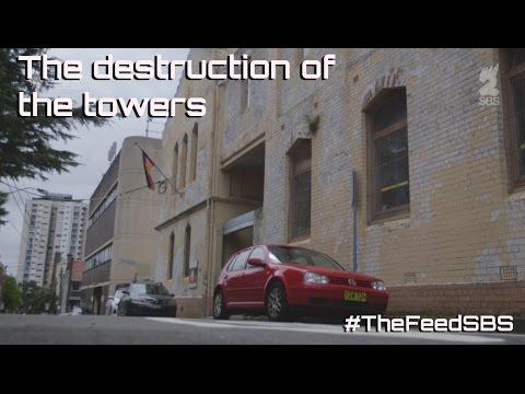 The destruction of the towers - The Feed