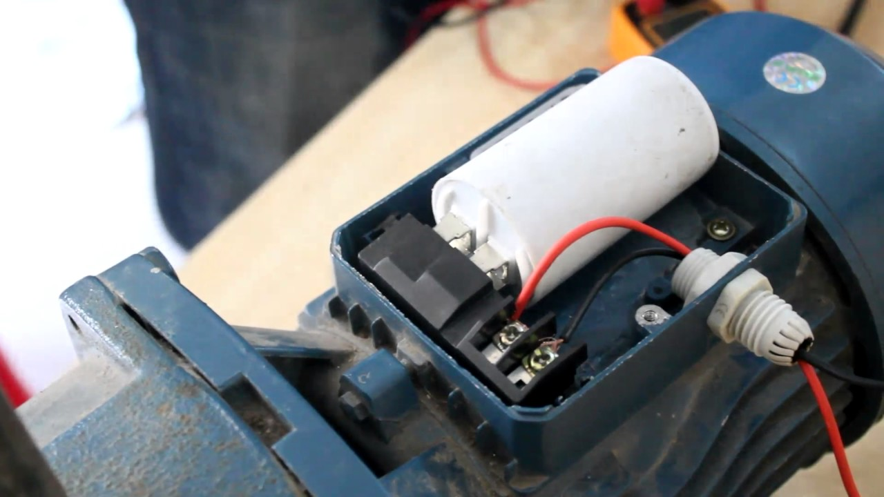 Pump Motor Connection Youtube Electric Ke Wiring Diagram