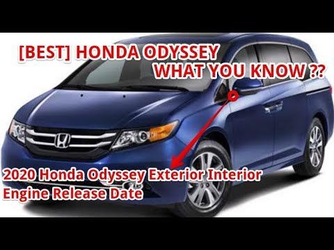 Best 2020 Honda Odyssey Exterior Interior Engine Release Date