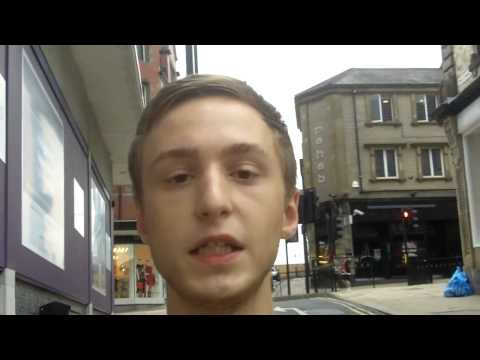 Lence  dropping some bars' in harrogate town North Yorkshire uk
