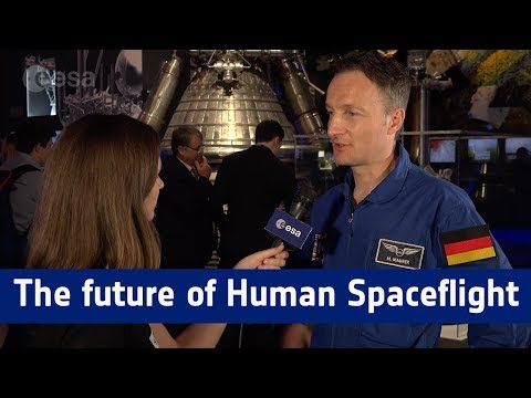Interview with Matthias Maurer on the future of human spaceflight