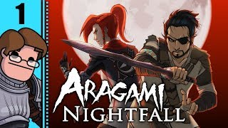 Let's Play Aragami: Nightfall Co-op Part 1 - Chapter 1: Fading Shadows