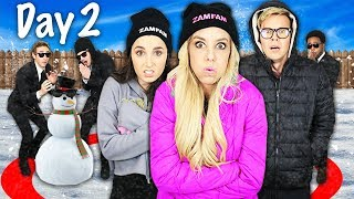 Last to leave FREEZING SNOW wins $10,000 Challenge! Name Reveal of Best Friend | Game Master Network