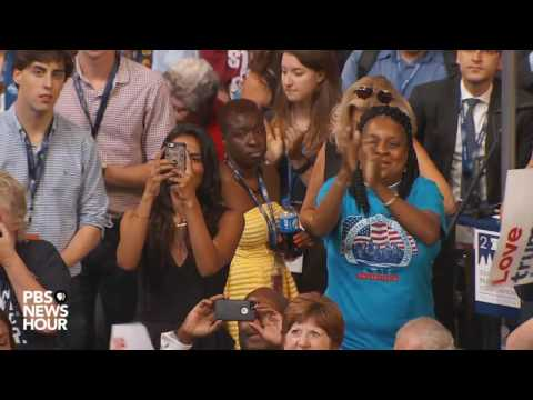 Watch former NBA players Jarron and Jason Collins speak at the 2016 Democratic National Convention
