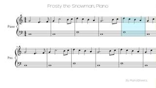 Frosty the Snowman [Piano Solo]
