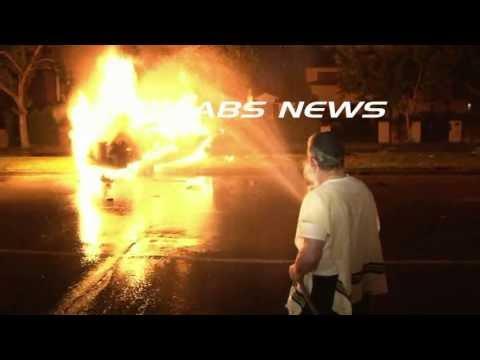 Journalist Michael Hastings Dies in Fiery Crash / Hollywood   RAW FOOTAGE