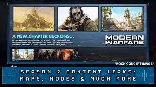 Modern Warfare: New Season 2 Leaks (New Maps, Modes, Battle Royale* & More)