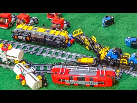 Lego® Train CRASH Compilation!