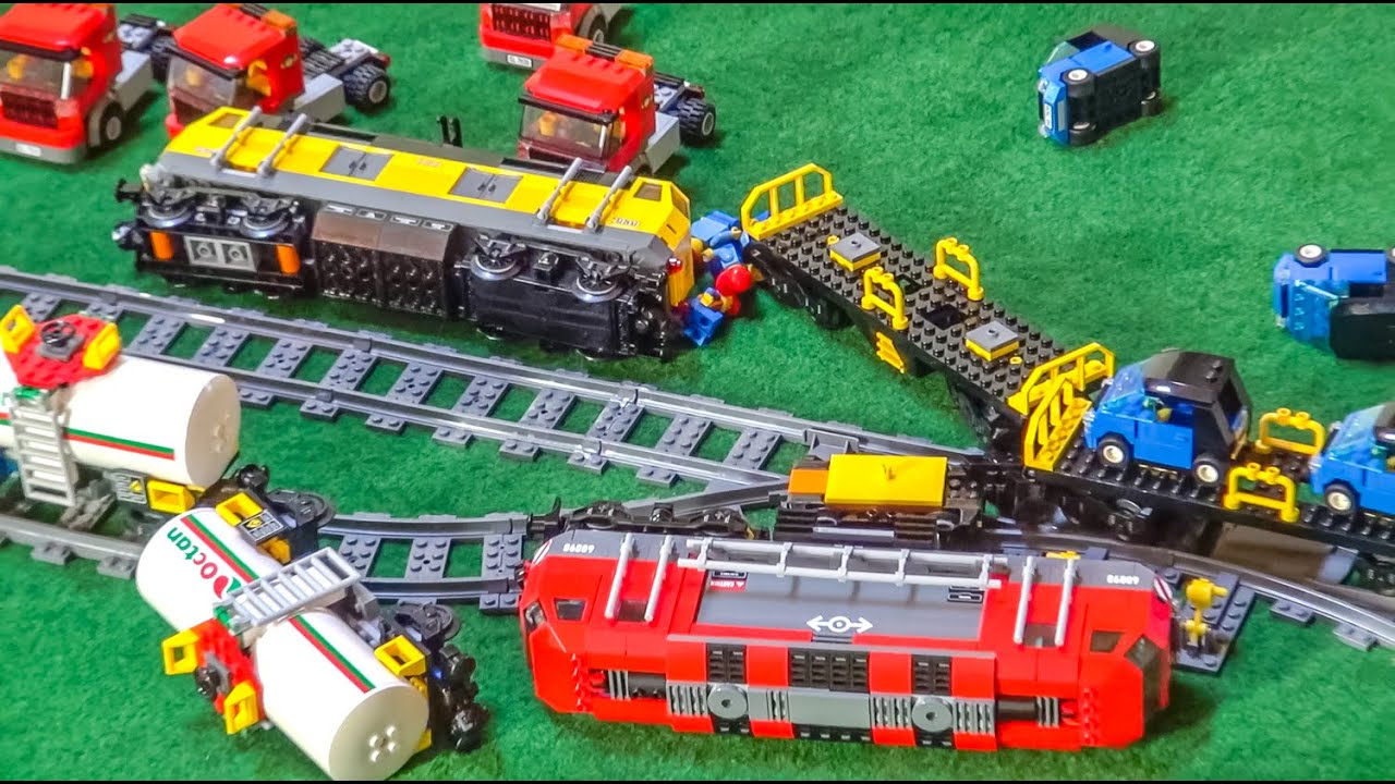 Lego Car Crash Compilation