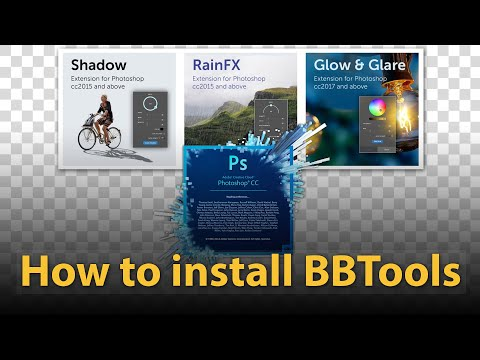 How To Install BBTools - Extension For Photoshop