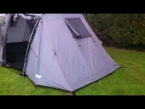 & Halfords Urban Escape Tent - YouTube