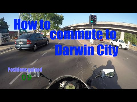 Commuter's guide to Darwin City
