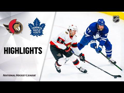 Senators @ Maple Leafs 2/18/21 | NHL Highlights