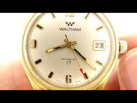 Vintage Waltham Wristwatch