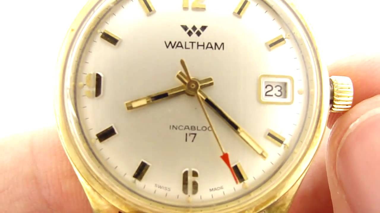 Dating waltham wrist watches
