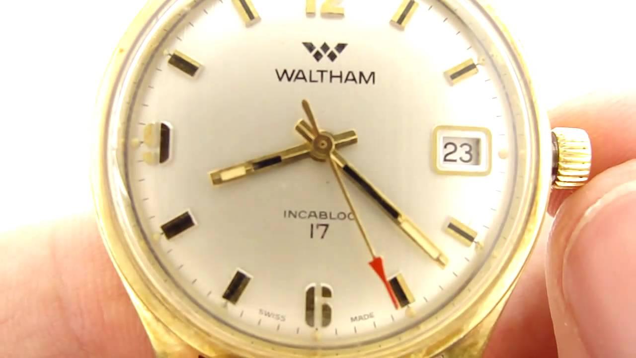 Dating a waltham watch