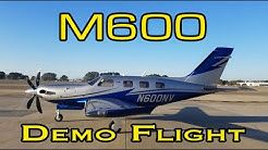 Piper M600 Demo Flight | Garmin G3000 | PA46