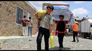 الأمم المتحدة: قافلة مساعدات إنسانية تدخل حي الوعر بحمص