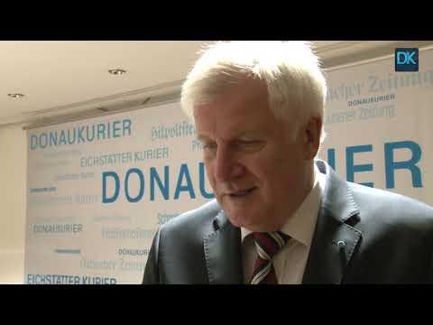 Horst Seehofer im Interview