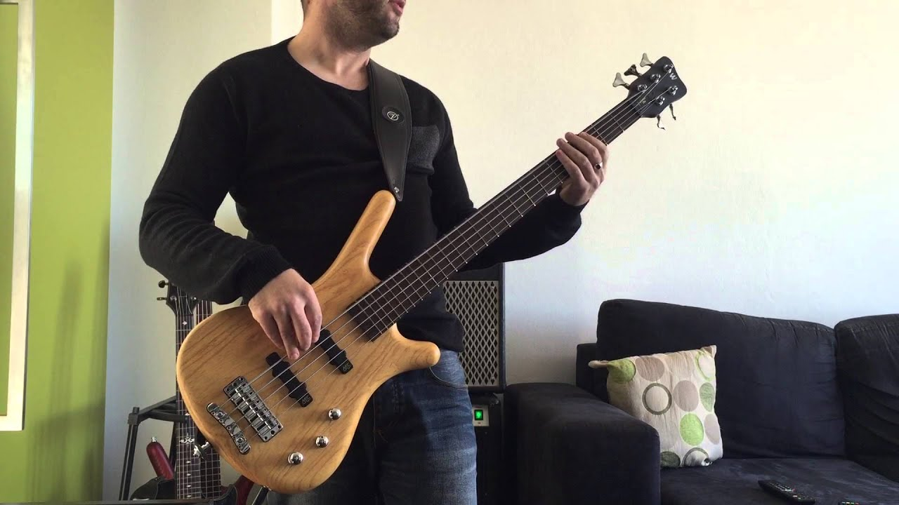 all i know bass cover