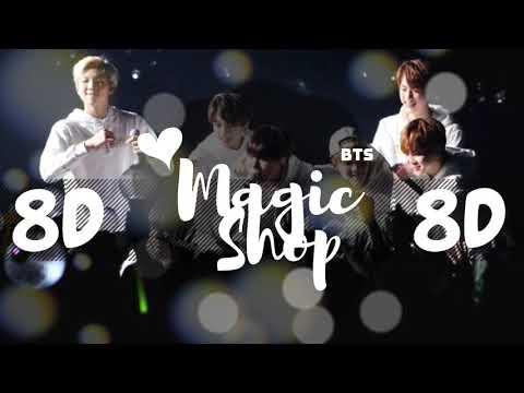 [8D AUDIO]  BTS (방탄소년단) – MAGIC SHOP [USE HEADPHONES 🎧]   BTS   BASS BOOSTED   8D