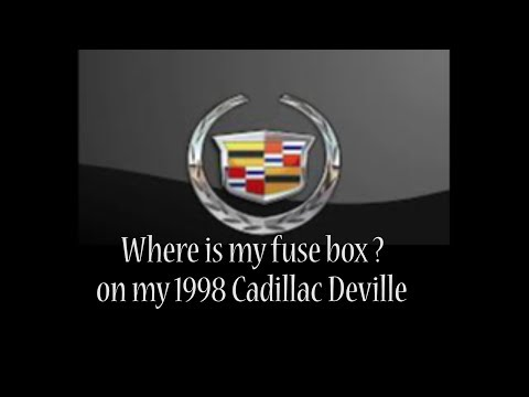 1998 Cadillac Deville - 1998 Cadillac Deville problems - wheres my fuse box  - YouTubeYouTube