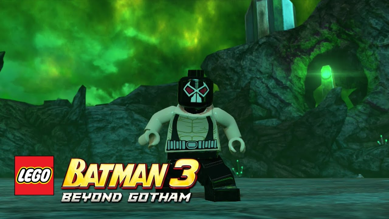LEGO Batman 3: Beyond Gotham - Bane Oa free roam - YouTube
