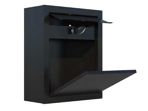 Bravios Briefkasten mailbox briefkasten bravios animation 3d ansicht