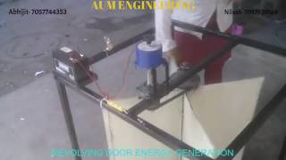 Revolving Door Energy Generation- Engineering Student Project - AUM ENGINEERING 7057744353