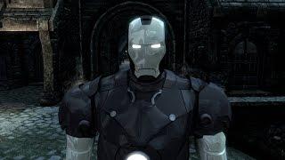 TES V Skyrim:Мод на костюм Железного человека + небольшое дополнение