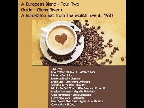 A European Blend - Tour Two - Guide - Glenn Rivera (1987)