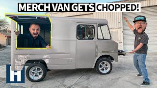 69-chevy-p10-merch-van-goes-to-chop-city-cutting-the-vending-window-rust-removal