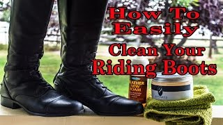 How To Clean Tall Riding Boots Easily