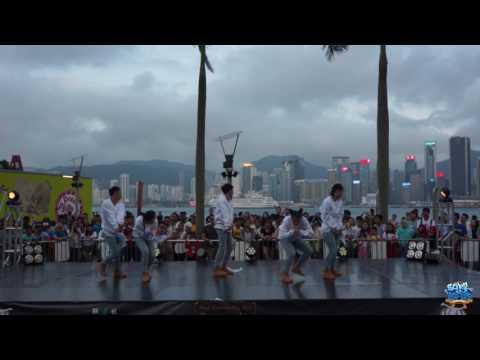 橫崗高級中學 V - OYE (China)|排舞比賽|High Schoolers Asian Hip Hop Championship 2017 Asia Final