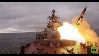 سفن الأسطول الشمالي الروسي تطلق صواريخ كروز