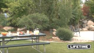 Hunter Green Lifetime 6 Foot Picnic Table (2123, 42123, And 22123)