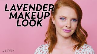 This Lavender Makeup Look is so Pretty! | Beauty Bytes