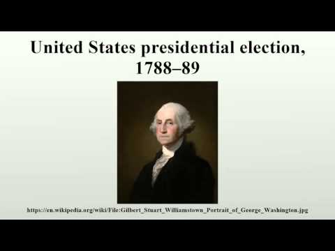 United States presidential election, 1788–89