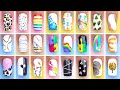 DIY Nails Art Designs 2021   Simple French Nail Art   Olad Beauty
