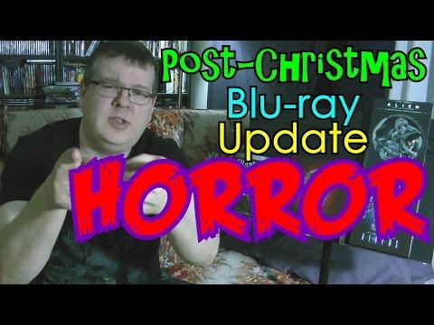 Post-Christmas HORROR Blu-ray Update!