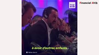 Racisme et immigration : Matteo Salvini reçoit un violent uppercut
