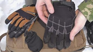 Износ тактических перчаток 5.11 и перчи от CLC