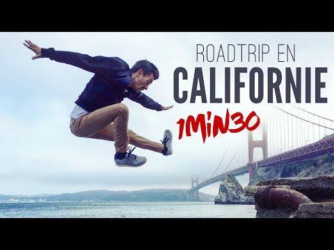 MON ROADTRIP EN CALIFORNIE en 1min30