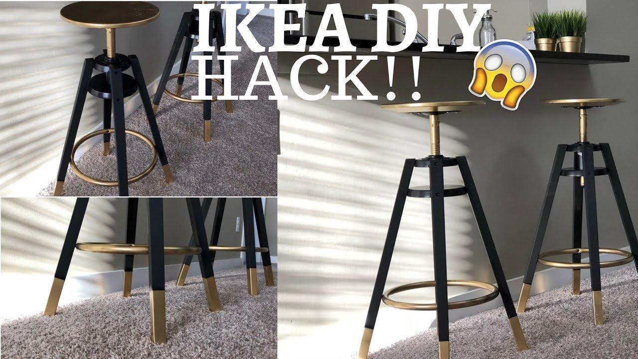 Ikea Hack Diy Bar Stools Luxury Youtube