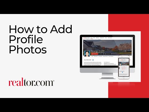 How to add your profile photos