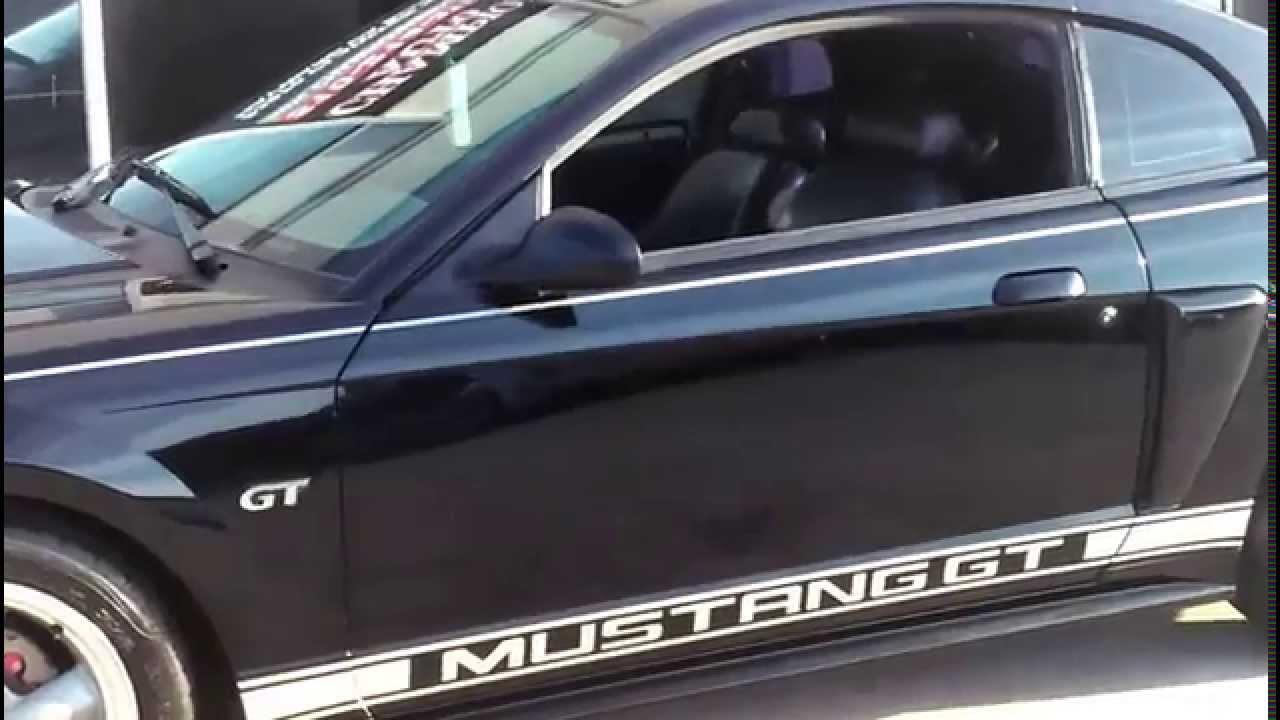 Sold Sold 2001 Ford Mustang Gt 78k  Nav   Reverse Backup