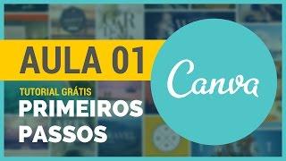 Primeiros Passos Canva | Tutorial Canva em Português #01