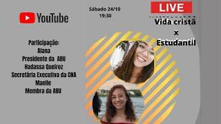 LIVE UPA - VIDA CRISTÃ X VIDA ESTUDANTIL